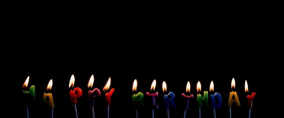Candeline di buon compleanno